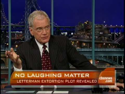 David Letterman Extortion Details