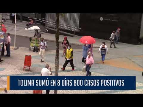 En promedio cada día son 100 personas contagiadas por la Covid-19 en el Tolima