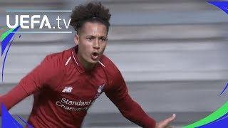 Youth League highlights: Liverpool 5-2 Paris