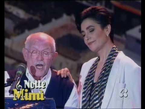 """♫ Mia Martini e Roberto Murolo ♪  """"Cu'mmè"""", duetto ♫  """"Azzurro 1992"""" ♫"""