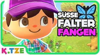 Schmetterlinge Fangen Spiel 😂😜 Animal Crossing New Horizons | Folge 3