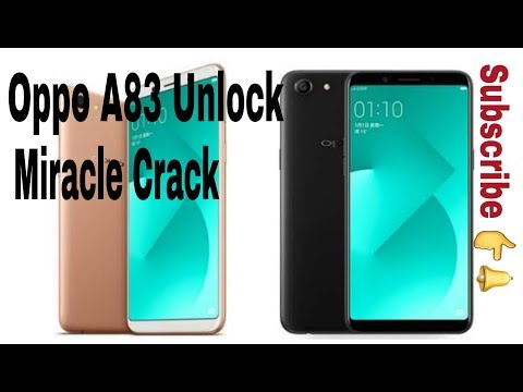 oppo a83 password unlock miracle crack