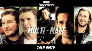 Multi-Male Marvel Cinematic Universe // Talk Dirty