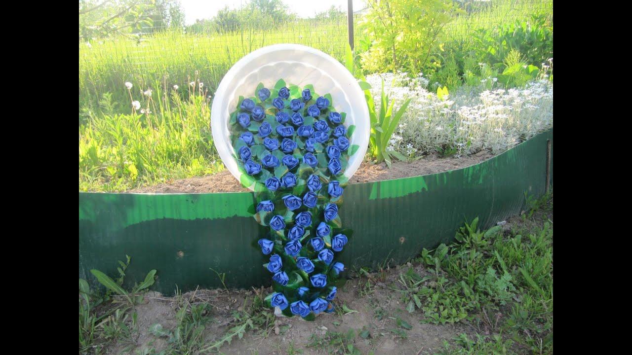Садовый декор своими руками, идеи для украшения сада