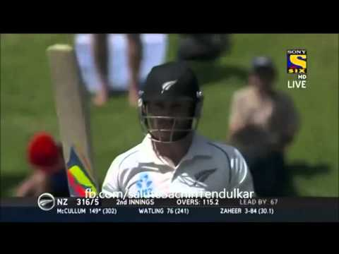 ▶ Brendon McCullum Double Century   India vs New Zealand   Day 5   2nd Test   2014   YouTube 360p