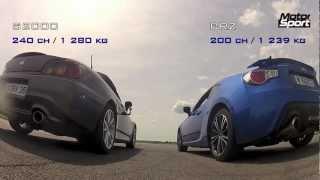 Drag race : Subaru BRZ VS Honda S2000 (Motorsport)