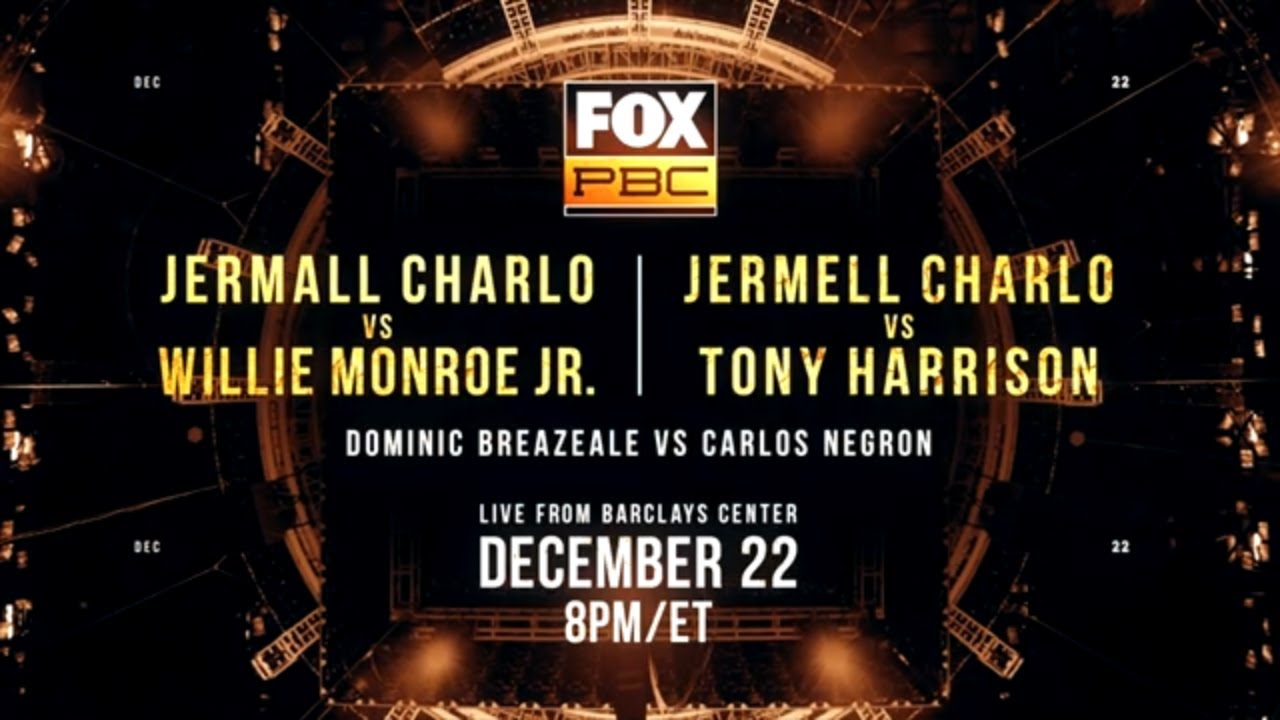 Jermall Charlo vs. Willie Monroe Jr. and Jermell Charlo vs. Tony Harrison | PBC on FOX