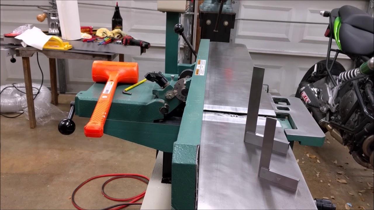 Cutech Jointer Setup
