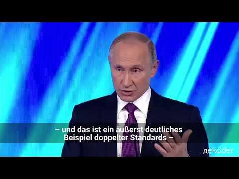 Putin: Kosovo als Präzedenz für Krim und Katalonien?