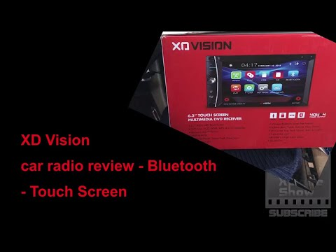 XD vision bluetooth car radio with touchscreen reviewed