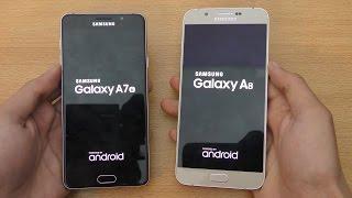 samsung galaxy a7 2016 vs galaxy a8 speed camera test 4k