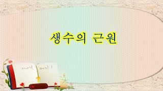 생수의 근원(예레미야 17:12~18)/김선종목사/20…