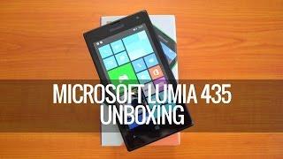 Microsoft Lumia 435 Unboxing