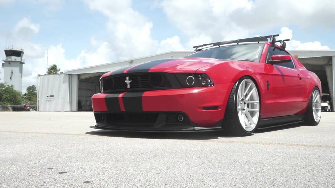 Dual Concave Mustang On Velgen Wheels Vmb6 Youtube