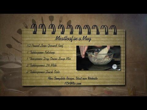 Meatloaf In A Mug - KOAM Morning News (1/26/2016)