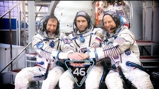 Expedition 46/47 Crew Undergoes Final Training Outside Moscow