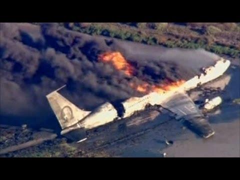รวมคลิปโหดๆ อุบัติเหตุทางอากาศเครื่องบิน-คอปเตอร์ ep.1