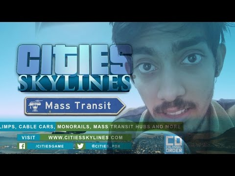 Cities Skylines - Mass Transit DLC Trailer Discussion || English
