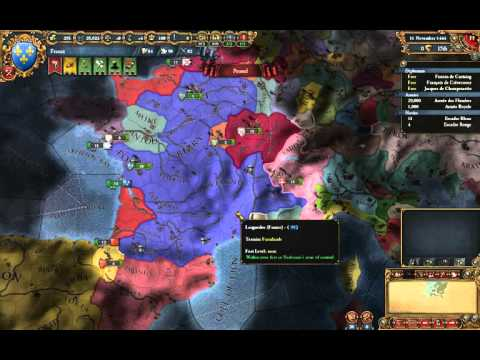 EU4 - Tutorial France 2 - Initial Diplomacy