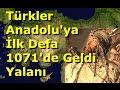 Anadolu'da 1071 Öncesi Türkler