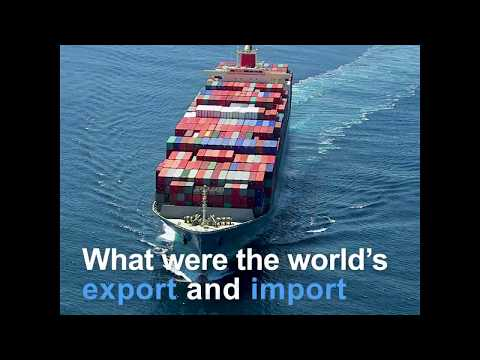 World's export and import highlights in 2017