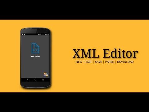 XML Editor - Intro