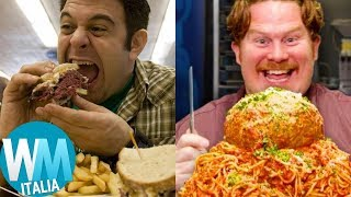 Top 10 SFIDE EPICHE di MAN vs. FOOD!