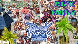 Ragnarok Classic MMORPG Gameplay Review #23 - Ragnarok Acolyte Guide Strategy Tips Android Game iOS