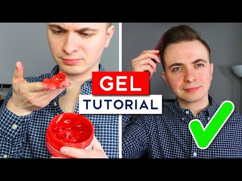 How To Use Hair Gel For Men - (the best way to use hair gel)