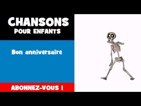 chanson pour enfants bon anniversaire youtube. Black Bedroom Furniture Sets. Home Design Ideas
