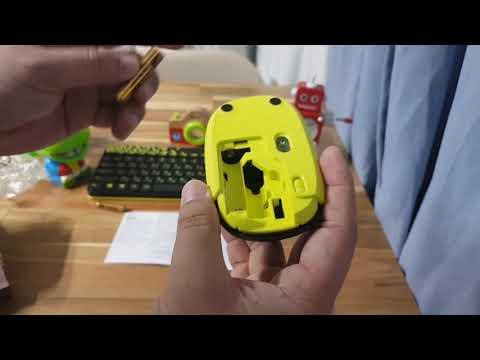 로지텍 MK240 NANO 무선키보드 마우스 세트 개봉기(후기)