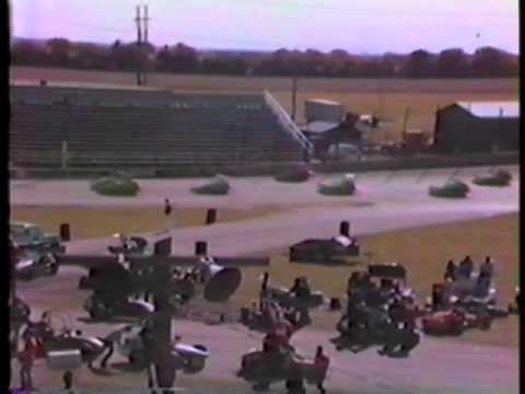 1981 Rockford Speedway Midget Heat 1