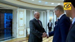 Встреча Президента Беларуси и председателя Комитета регионов Европейского союза