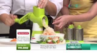 [VTV-HYUNDAI] CRS BALZANO - Bộ xay cắt và bộ xay ép thực phẩm đa năng