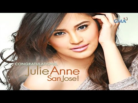 Congratulations, Julie Anne!