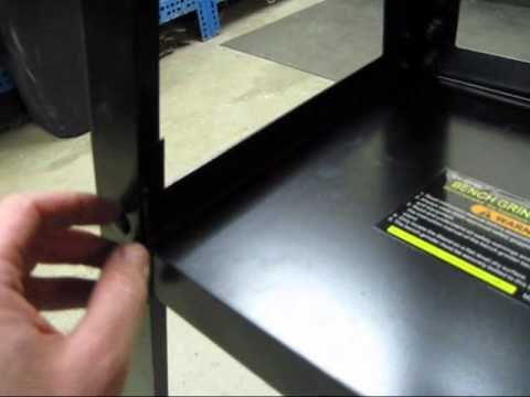 Harbor Freight 03184 Bench Grinder Stand Youtube