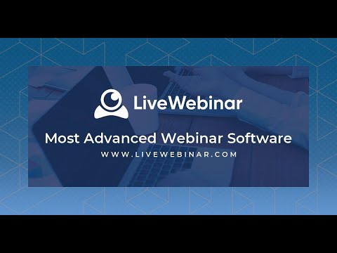 Live Webinar - Most Advanced Webinar Software
