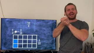 Matematik - at gange og dividere med brøker