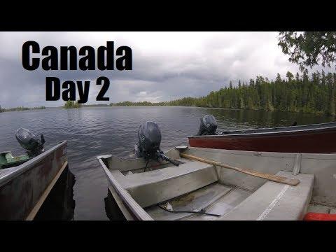 Fishing Jigs for TROPHY Walleye [Canada Day 2]