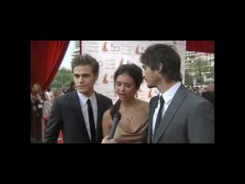 The Vampire Diaries Cast at the 50th Monte Carlo TV Fest
