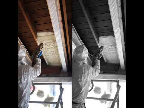 Spray Foam Insulation, Santa Barbara CA  - Closed Cell R30