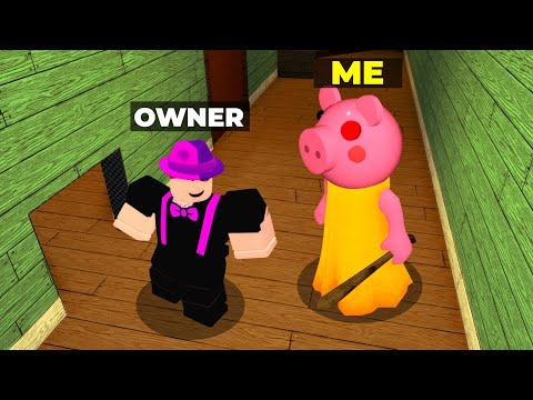 PIGGY but I KILL THE CREATOR..