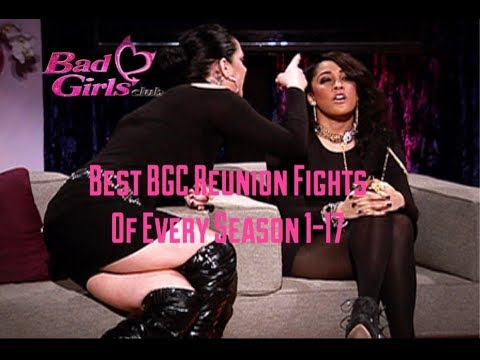 Best Bad Girls Club Reunion Fights of Every Season 1-17