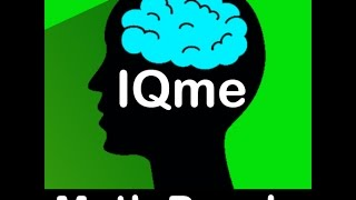 IQme - Endless brain training number puzzle game for iPhone, Android, and Kindle - Jan 2017