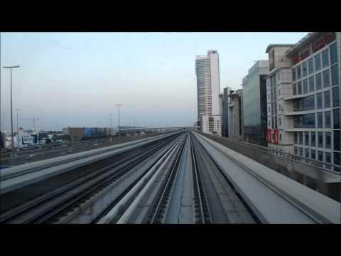 Dubai Metro - Red Line - Jebel Ali - Rashidiya [ 720p ]