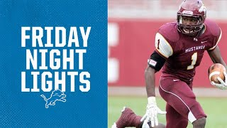 Kerryon Johnson Reacts to His HS Football Highlights | Friday Night Lights