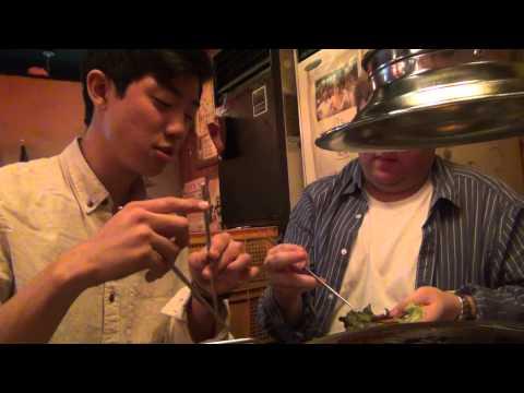 South Korea Trip Journal (03/03/12, Part 2, Our First Trip To Seoul, Korean Barbecue)