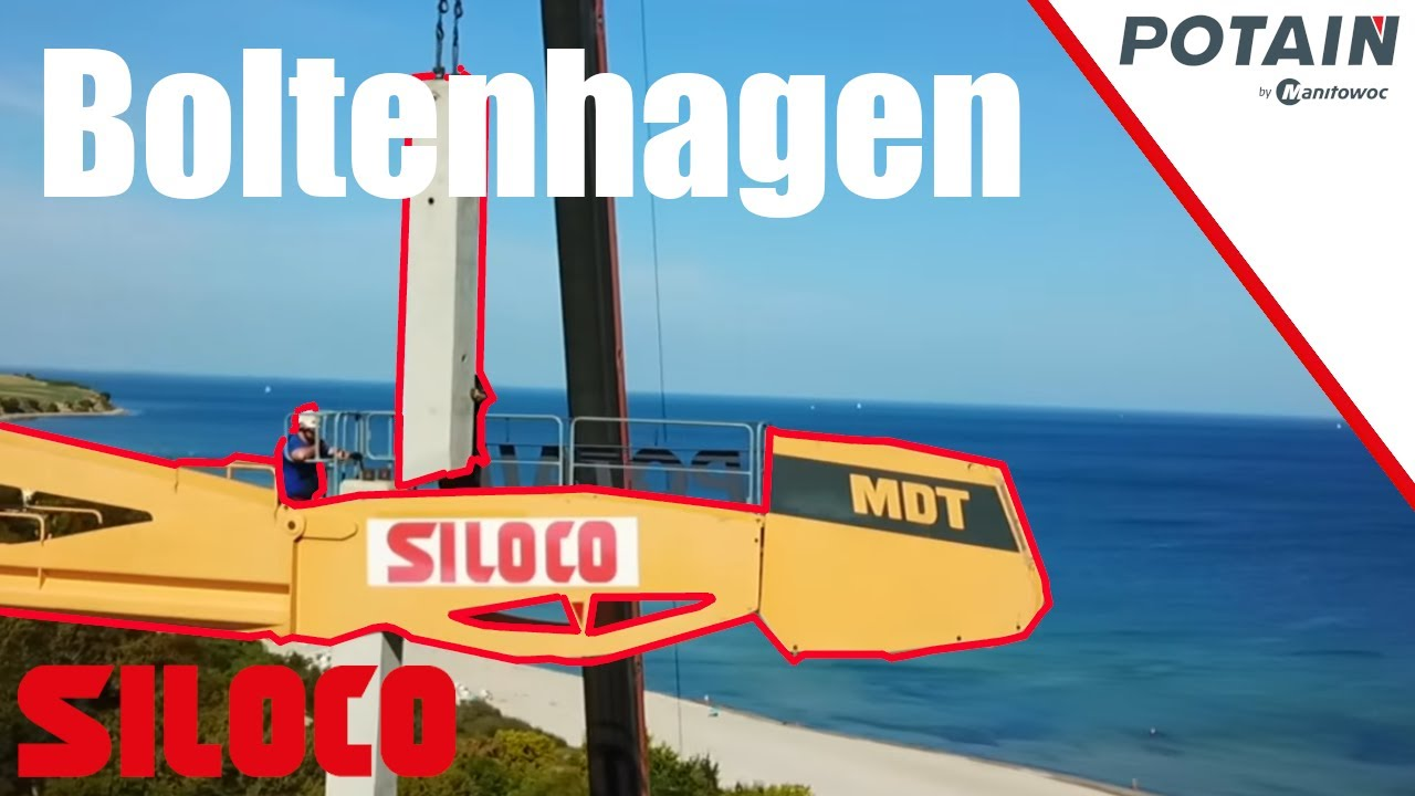 Youtube Video: Potain Kranaufbau in Boltenhagen