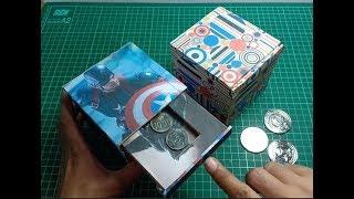 Kerajinan dari Kardus - Cara Membuat Kotak Koin Ajaib dari Kardus
