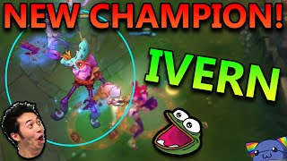 THE FRIENDLIEST CHAMPION IN LEAGUE! IVERN JUNGLE - League of Legends New Champion Commentary